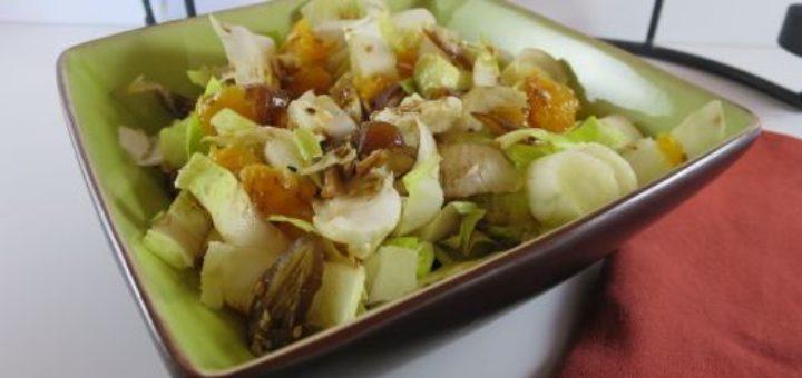 Salade d'endives aux oranges