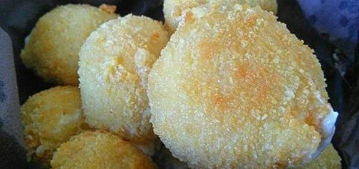 ARANCINI (croquettes de risotto à la mozzarella)