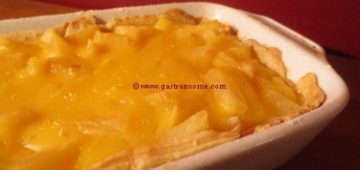 Petite tarte à l'ananas