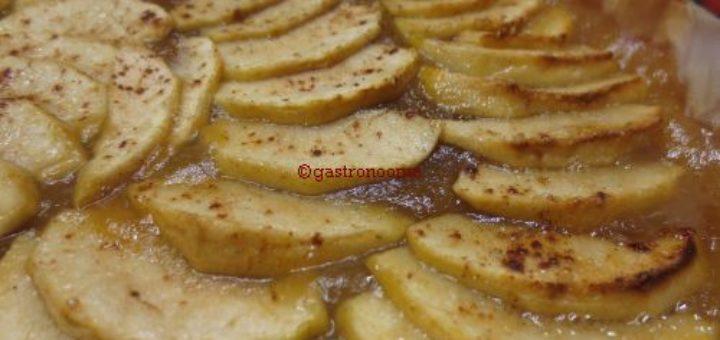 Tarte aux pommes à la compote
