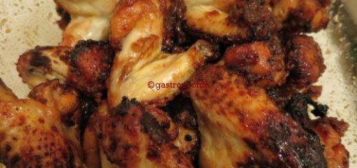 Ailes de poulet caramélisées à l'actifry