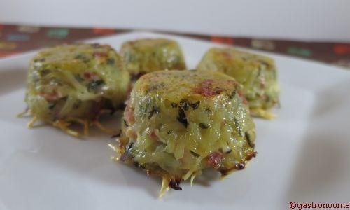 mini galettes de pommes de terre