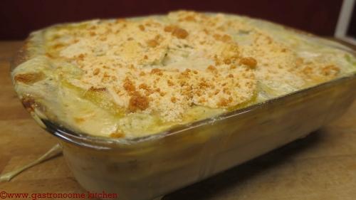 végétarien - Dauphinois d'ocas du pérou et pommes de terre