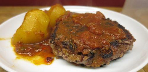 Vegan - Steaks de haricots rouges