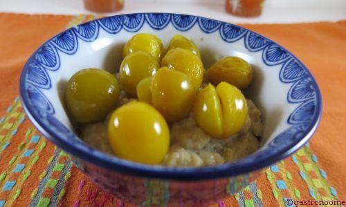 vegan - Porridge aux mirabelles