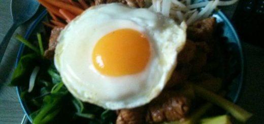 Bibimbap de poulet