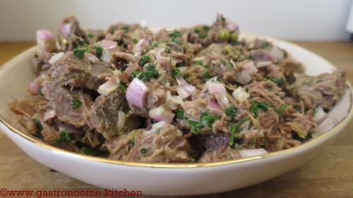 Salade de viande de pot au feu
